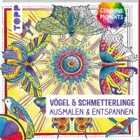Colorful Moments - Vögel & Schmetterlinge 4724