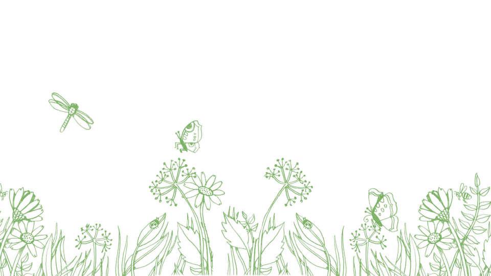 Einrichtung-DIY-Ideen-Wohnen-Gruenes-Bild-mit-Blumen