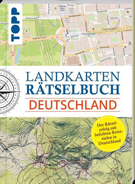 Landkarten Rätselbuch - Deutschland